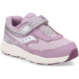 Saucony Toddler Ride 10 Jr - Pink Metallic - SL163407 - Profile