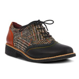 Spring Step Women's Muggiasti Oxford - Black Multi - Angle