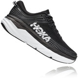 HOKA ONE ONE Women's Bondi 7 - Black / White - 1110519-bwht - Angle