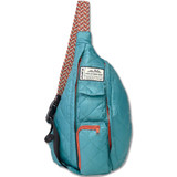 Kavu Mini Rope Puff Bag - Blue Spruce - Front