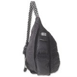 Kavu Mini Rope Puff Bag - Black - Front