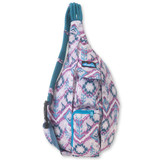 Kavu Rope Sling Bag - Purple Ikat - Front