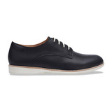 Rollie Women's Derby - Black Leather - DERBY/BLACK - Profile