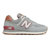 New Balance Women's 574 Classics - Rain Cloud with Off Road - WL574BCZ - Profile