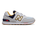 New Balance Men's 574 Classics - Summer Fog with Pigment - ML574NLD - Profile