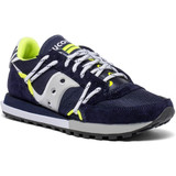 Saucony Jazz DST - Navy / Silver - S70528-9 - Angle