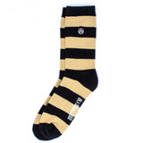 Sky Outfitters Purdue Boilermaker Crew Socks - Black and Gold - Profile
