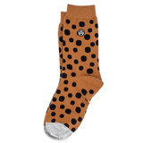 Sky Outfitters Crew Socks - Spotted Cheetah - Profile