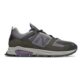 New Balance Men's X-Racer (XRCT) - Camo Green with Nightshade Purple - SXRCTCB - Profile