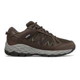 New Balance Women's 1350 Trail Walking - Chocolate Brown with Team Away Grey - WW1350WC - Profile
