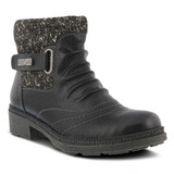 Spring Step Women's Citrine Boot - Black - CITRINE/BLK - Angle