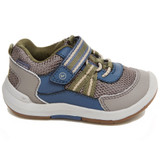 Stride Rite Kid's SRTech Jasper Sneaker - Taupe - Profile