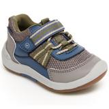 Stride Rite Kid's SRTech Jasper Sneaker - Taupe - Angle