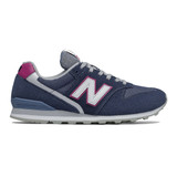 New Balance Women's 996 - Natural Indigo with Gold - WL996WA - Profile