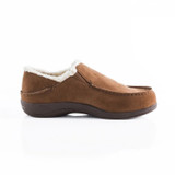 Powerstep Men's Fusion Slipper - Brown - Profile