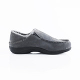 Powerstep Men's Fusion Slipper - Charcoal - Profile