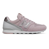 New Balance Women's 996 - Space pink with Summer Fog - WL996QA - Profile