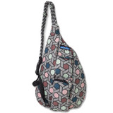 Kavu Mini Rope Bag - Jewel Pop - Front