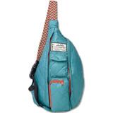 Kavu Rope Puff Bag - Blue Spruce - Front
