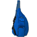 Kavu Rope Bag - Stong Blue - Front