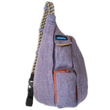 Kavu Mini Rope Tweed Bag - Vintage Violet - Front