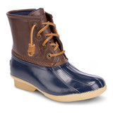 Sperry Big Kid's Saltwater Duck Boot - Navy - YG55203 - Angle