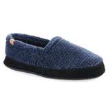 Acorn Men's Original Moccasins - Blue Check - 10086/BLU - Profile