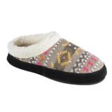 Acorn Women's Fairisles Hoodback Slippers - Gray - 20137/BLK - Angle
