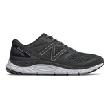 New Balance Men's 840v4 - Black with White - M840BK4 - Profile