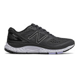 New Balance Women's 840v4 - Black with White - W840BK4 - Profile