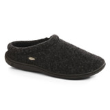 Acorn Men's Digby Gore Slipper - Black Tweed - 10126/BLK - Profile