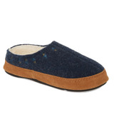 Acorn Women's Geo Embroidered Hoodback Slippers - Navy - 19017/BLUE - Main