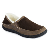 Acorn Men's Fleece-Lined Rambler Moccasins - Chocolate - 50018/CHO - Angle