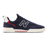 New Balance Men's Numeric NM288 Sport - Navy with Red - NM288SPJ - Profile
