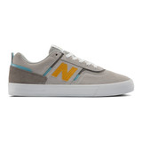 New Balance Men's Numeric 306 - Grey with Yellow - NM306SNT - Profile