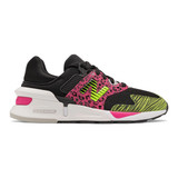 New Balance Women's 997 Sport - Black with Exuberant Pink - WS997SNB - Profile