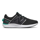 New Balance Women's Fresh Foam Vero Racer - Black with Magnet and Verdite - WVRCRNB1 - Profile