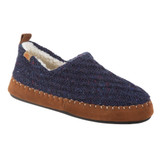 Acorn Women's Recycled Camden Moccasins - Navy - 19019/NVY - Angle