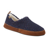 Acorn Men's Recycled Camden Moccasins - Navy - 19020/BLUE - Angle
