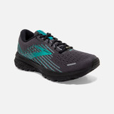 Brooks Women's Ghost 13 GTX - Black / Peacock - Angle
