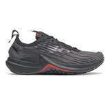 New Balance Women's Fuel Cell Speedrift - Black with Silver Metallic - Profile