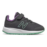 New Balance Kid's 455v2 - Magnet with Neo Mint - IT455RM - Profile