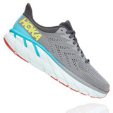 HOKA ONE ONE Men's Clifton 7 - Wild Dove with Dark Shadow - 1110508-WDDS - Profile