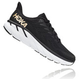 HOKA ONE ONE Women's Clifton 7 - Black with Bronze - 1110509-BBRNZ - Profile