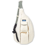 Kavu Rope Fleece Bag - Birch - Front