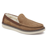 Johnston & Murphy Men's McGuffey Shearling Slip-On - Chestnut Shearling - 25-3369 - Angle