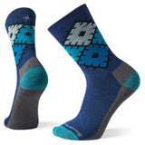 Smartwool Hike Diamond Crew Socks - Alpine Blue - SW001198-B25 - Main