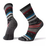 Smartwool Men's Margarita Light Hiking Crew Socks - Black - SW001392-001 - Main