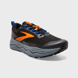 Brooks Men's Caldera 5 - Black / Orange / Blue - 110354-041 - Angle