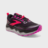 Brooks Women's Caldera 5 - Black / Fuschia / Purple - 120341-020 - Angle